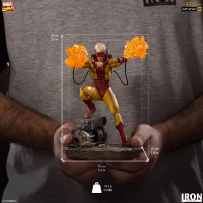 Pyro---X-Men---Bds-Art-Scale-1-10---Iron-Studios