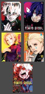 Pack-Tokyo-Ghoul---Vols.7-ao-11