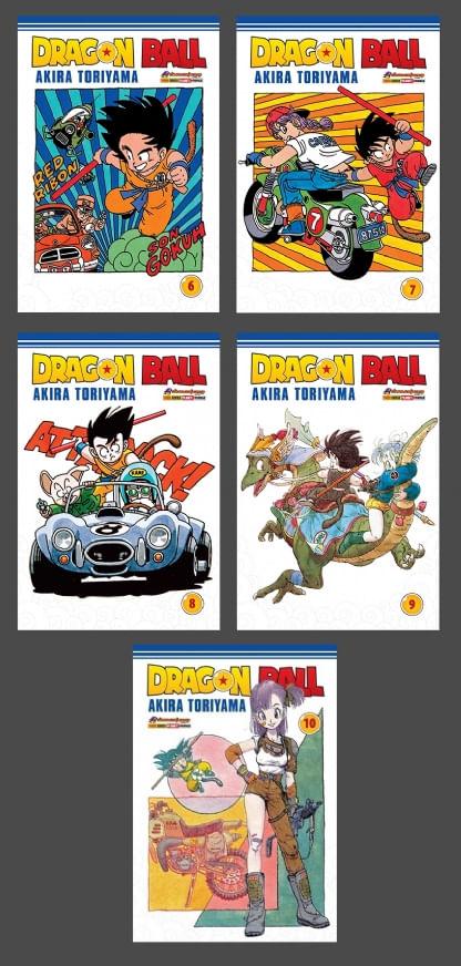 Pack-Dragon-Ball---Vols.-6-ao-10
