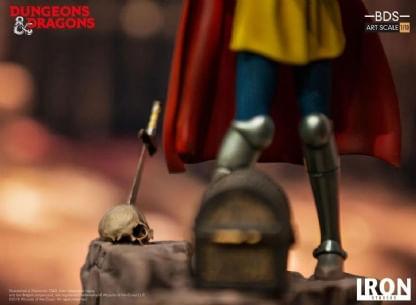 Eric---Caverna-do-Dragao---Art-Scale-1-10---Iron-Studios