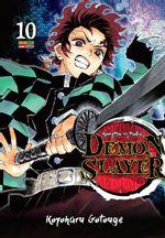 Pack-Demon-Slayer---Kimetsu-No-Yaiba---Vols.-1-ao-10
