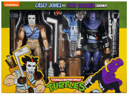 Casey-Jones-Vs-Foot-Soldier--Slashed--Cartoon-7---Figure---TMNT