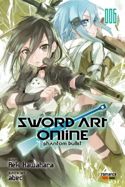 Sword-Art-Online---Phantom-Bullet---Vol.06