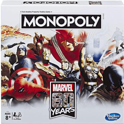 Monopoly---Marvel-80-Years