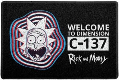 Capacho-Criativo---Rick-and-Morty---C-137