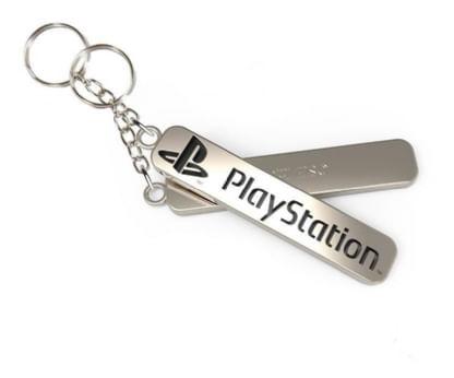 Chaveiro-de-Metal-Playstation---Modelo-1
