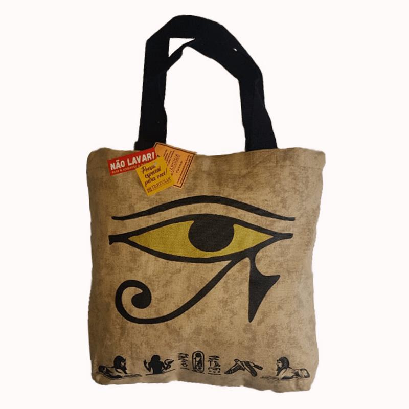 Sacola-EGITO-ANTIGO---Estampa-Olho-de-Horus----exclusiva-exposicao-Egito-antigo---CCBB