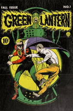 Quadro-de-Puzzle---Lanterna-Verde---1°-Capa