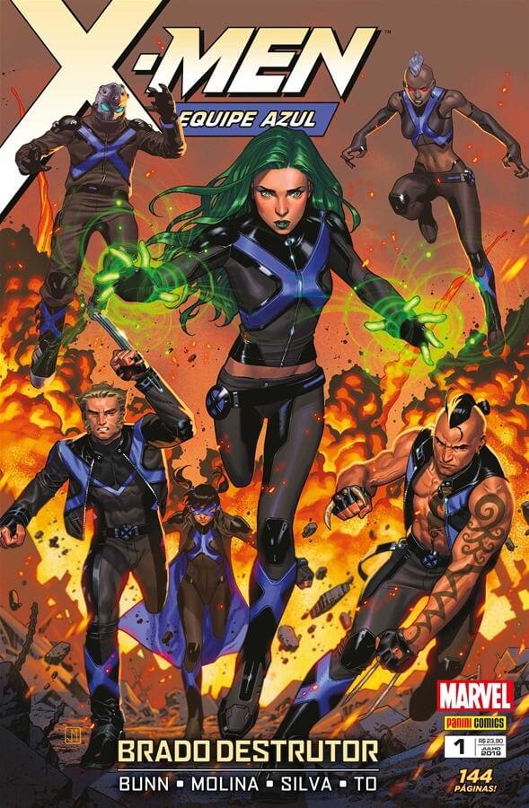 X-Men---Equipe-Azul---Vol.1