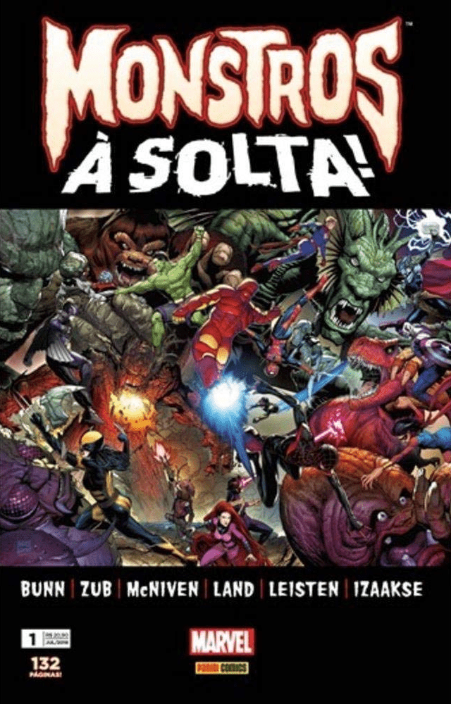 Monstros-a-Solta---Vol.1