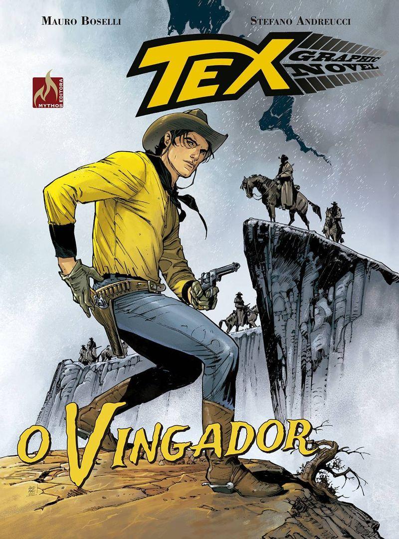 Tex-Graphic-Novel---O-Vingador-Vol.-5---Mauro-Boselli