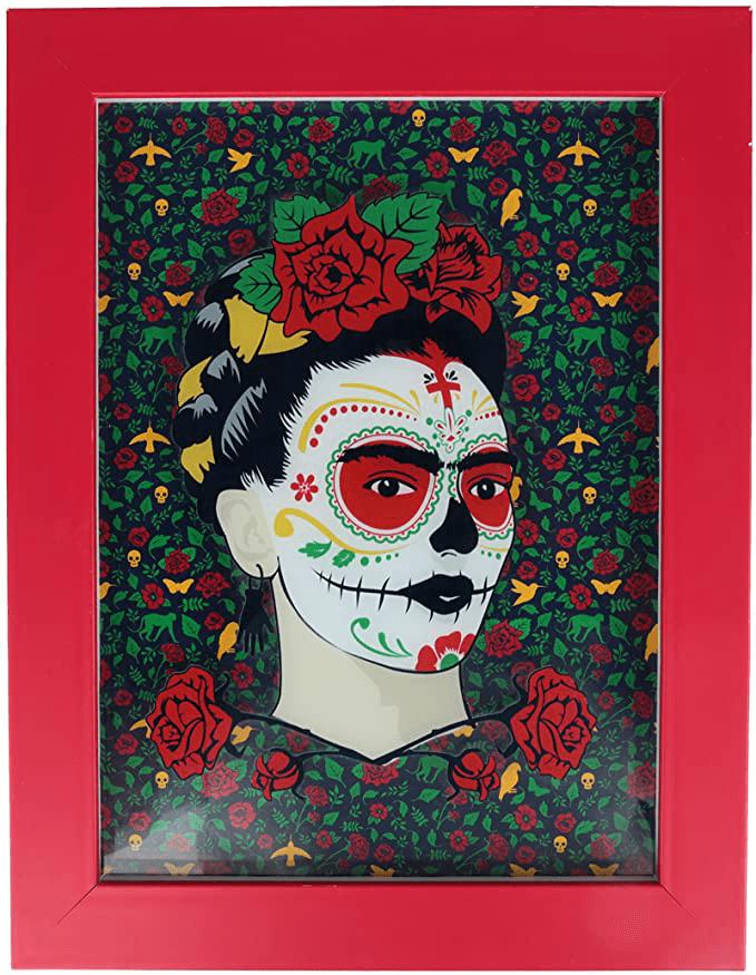 Quadro-com-Moldura-e-Vidro---Frida-Kahlo