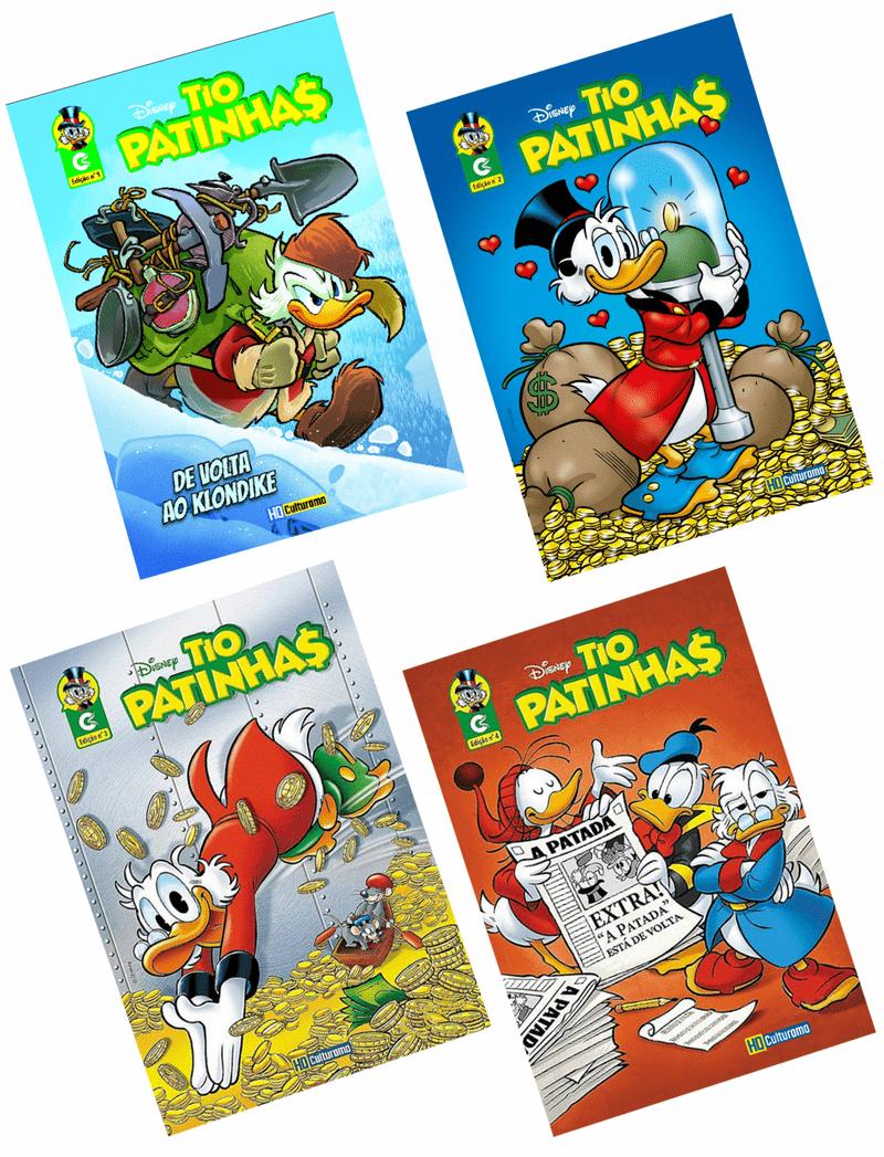 Pack-Quadrinhos-Tio-Patinhas---Edicoes-1-2-3-e-4