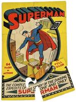 Quadro-de-Puzzle---Superman---1°-Capa